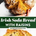 Irish Soda Bread Image Pin 1