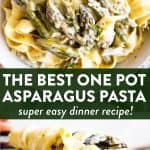 Asparagus Pasta Pin
