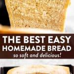 Homemade Bread Image Pin