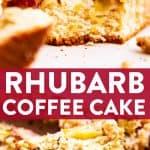 Rhubarb Coffee Cake Pin