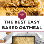 Baked Oatmeal Image Pin
