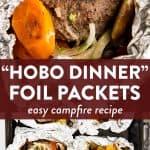 Hobo Dinner Image Pin