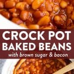 Crockpot Baked Beans Image Pin