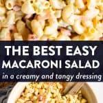 Macaroni Salad Image Pin