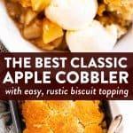 Apple Cobbler Image Pin