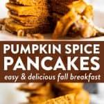 Pumpkin Pancakes Pin 3