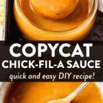 Copycat Chick-Fil-A Sauce Image Pin