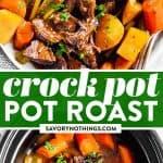 Crockpot Pot Roast Image Pin
