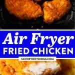 Air Fryer Fried Chicken Pin