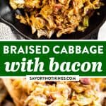 Braised Cabbage Image Pin
