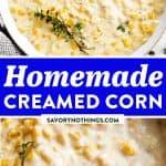 Creamed Corn Image Pin