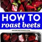 How to Roast Beets Image Pin