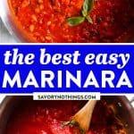 Marinara Sauce Image Pin