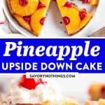 Pineapple Upside Down Cake Image Pin