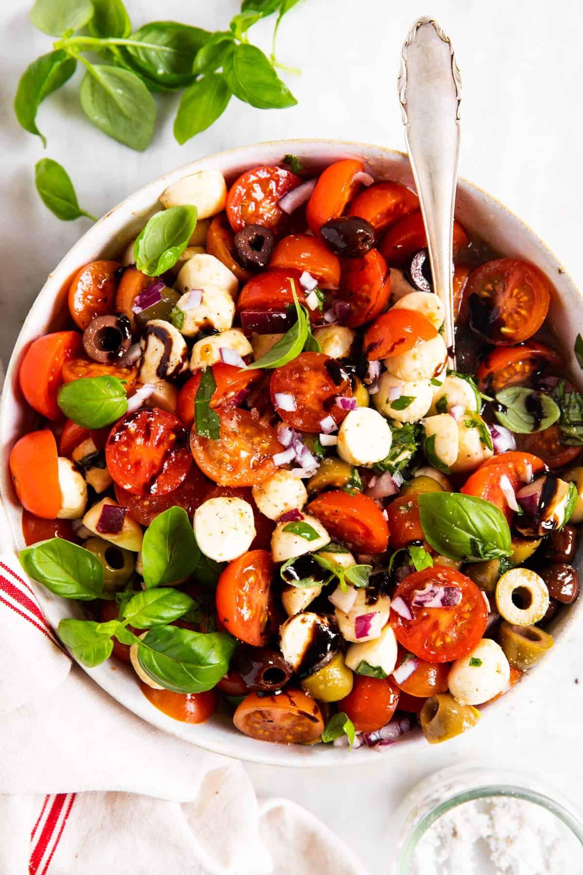 Cherry Tomato Salad Recipe   Savory Nothings