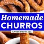 Churros Recipe Image Pin 1