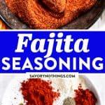 Fajita Seasoning Image Pin 1