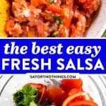 Fresh Salsa Image Pin 1