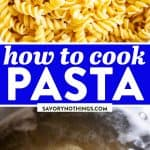 How to Cook Pasta Pin 1