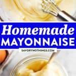 How to Make Mayonnaise Image Pin