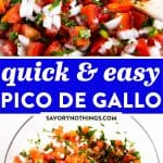 Pico de Gallo Image Pin
