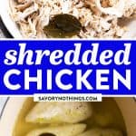 Shredded Chicken Image Pin 1