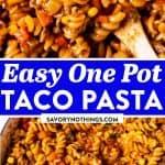 Taco Pasta Image Pin 1