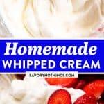 Whipped Cream Image Pin
