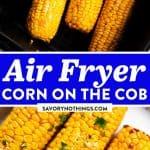 Air Fryer Corn on the Cob Pin 1