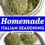 Italian Seasoning Image Pin 1