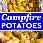 Campfire Potatoes Image Pin 1