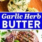 Garlic Herb Butter Pin 1