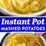 Instant Pot Mashed Potatoes Image Pin 2