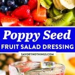 Poppy Seed Fruit Salad Dressing Image Pin 1
