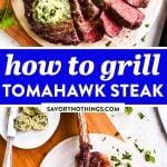 Tomahawk Steak Image Pin 1